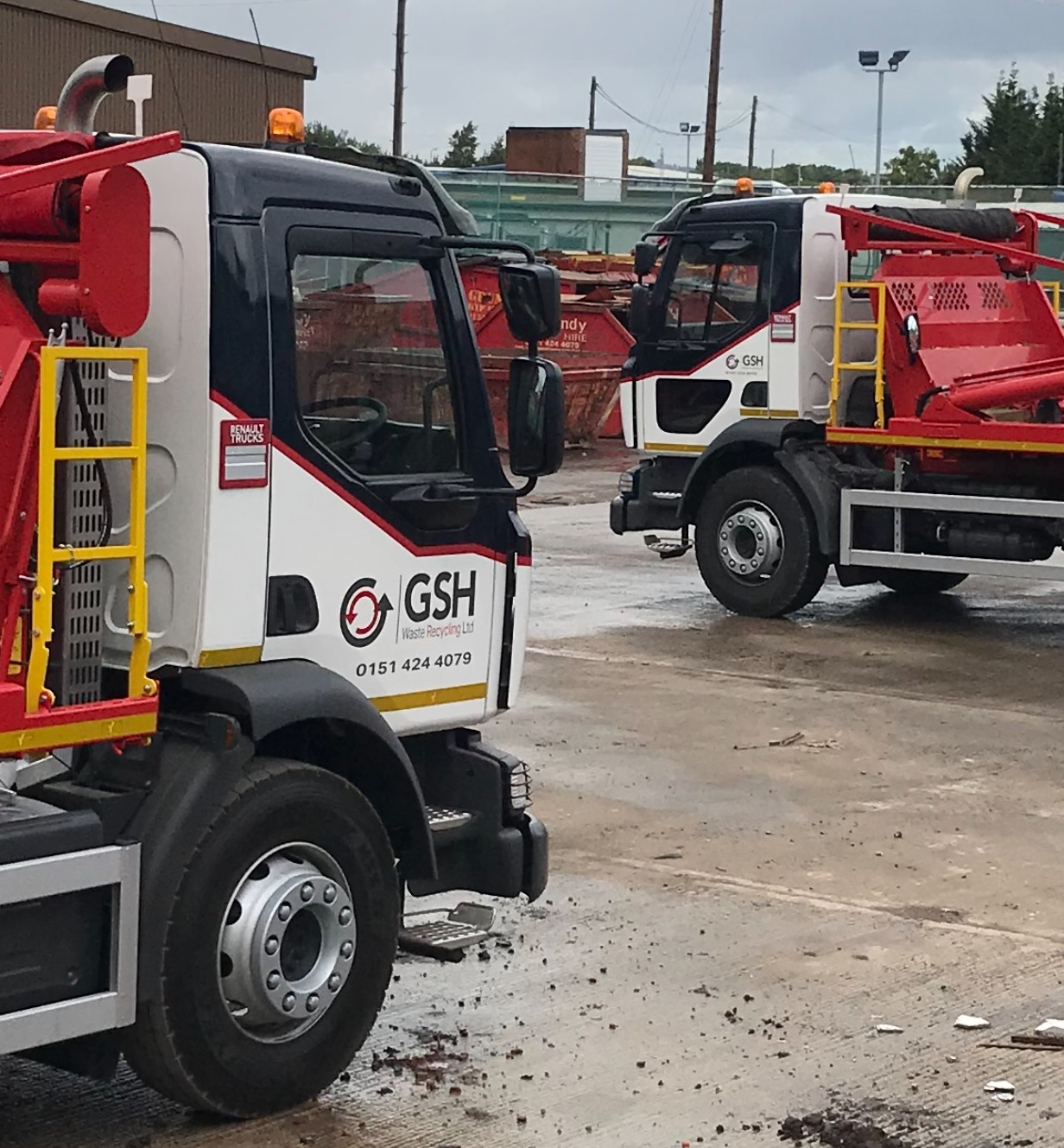 GSH skips Trucks in Yard