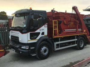 Skip Hire Liverpool Truck Fleet - gshskips