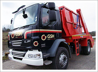 Liverpool Skip Hire Truck Fleet - gshskips