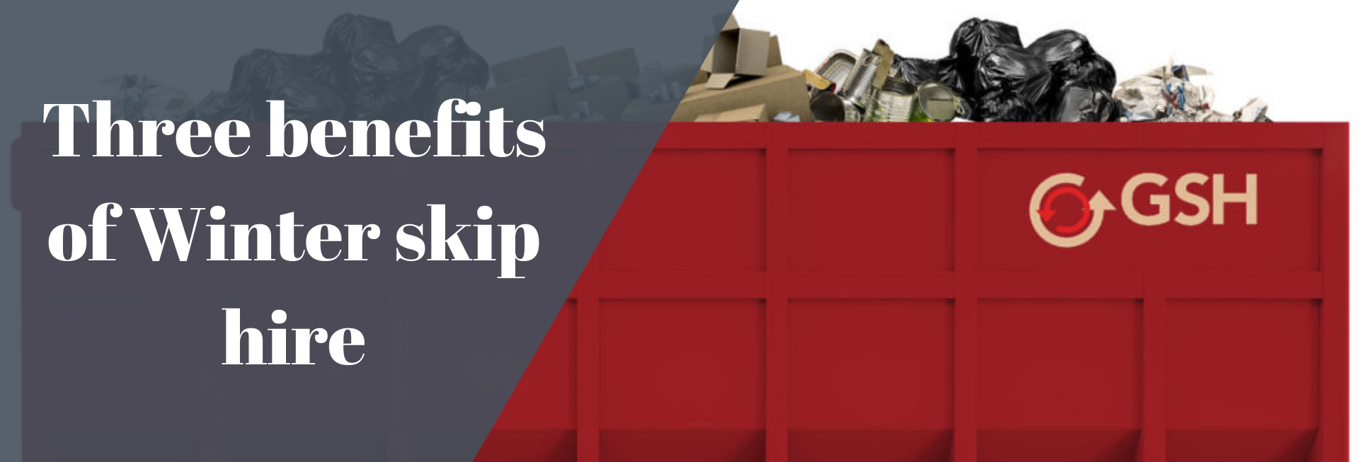 Three benefits of Winter skip hire