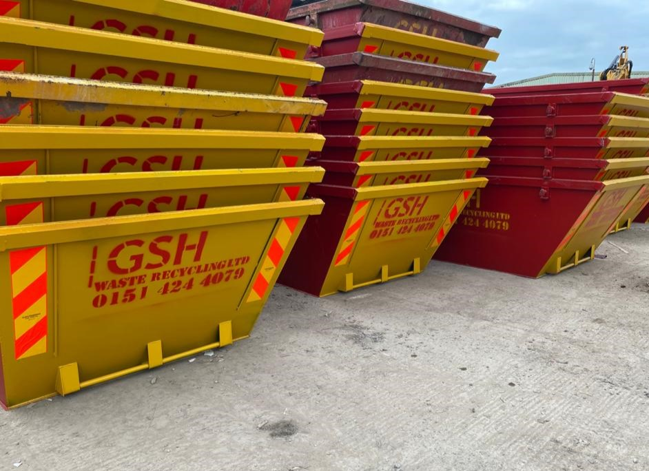 We Have A Large Stock of Skips Available - GSH Skip Hire